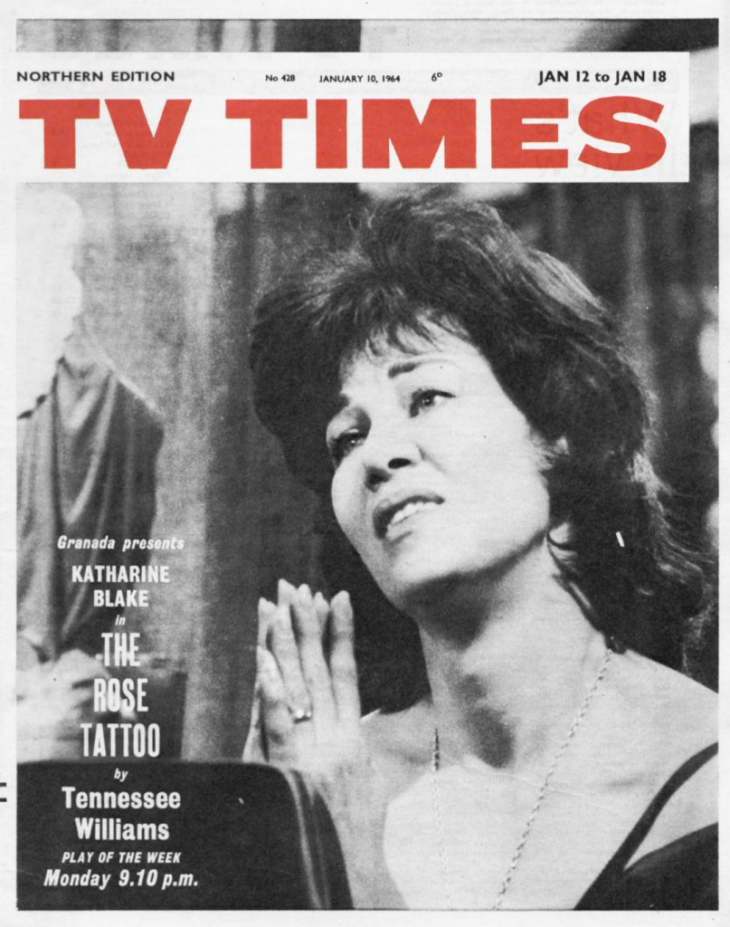 Cover of the TVTimes for the week of 12 January 1964